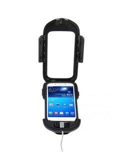 Uchwyt na kierownicę INTERPHONE z etui do SAMSUNGA GALAXY S4