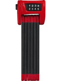 Zapięcie składane ABUS Bordo Combo 6100/90 red ST z uchwytem.