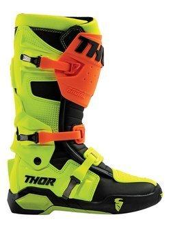 Zestaw klamer do butów Thor Radial pomarańczowo-żółty
