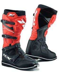 Buty enduro TCX X-Blast czarno-czerwone