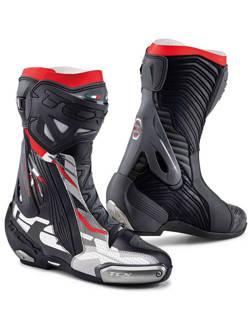 Buty motocyklowe TCX Rt-Race Pro AIR czarno-szaro-czerwone