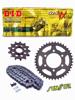 HONDA RVF 750R RC45 [94-98] zestaw napędowy DID525 VX PRO - STREET( X-ring super - wzmocniony) zębatki SUNSTAR