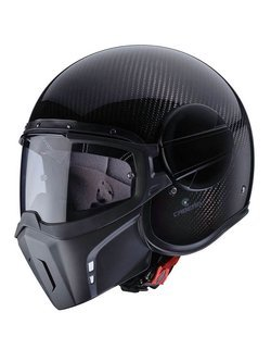 Kask otwarty Caberg JET GHOST CARBON