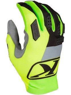 Rękawice motocyklowe Klim XC Lite żółte-fluo