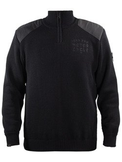 Sweter JOHN DOE Zip Small Logo