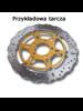 Tarcza Hamulcowa EBC MD671 Stainless Steel Rotor na tył. Średnica 265mm.