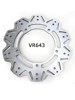 Tarcza Hamulcowa EBC VR643 VEE Rotor na tył. Średnica 285mm.